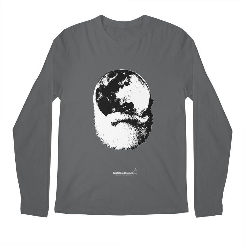 Moon Daddy Men's Regular Longsleeve T-Shirt by Resistance is Tactile