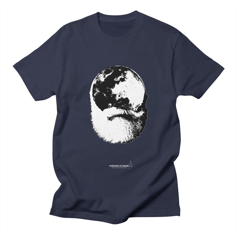 Moon Daddy Women's Regular Unisex T-Shirt by Resistance is Tactile