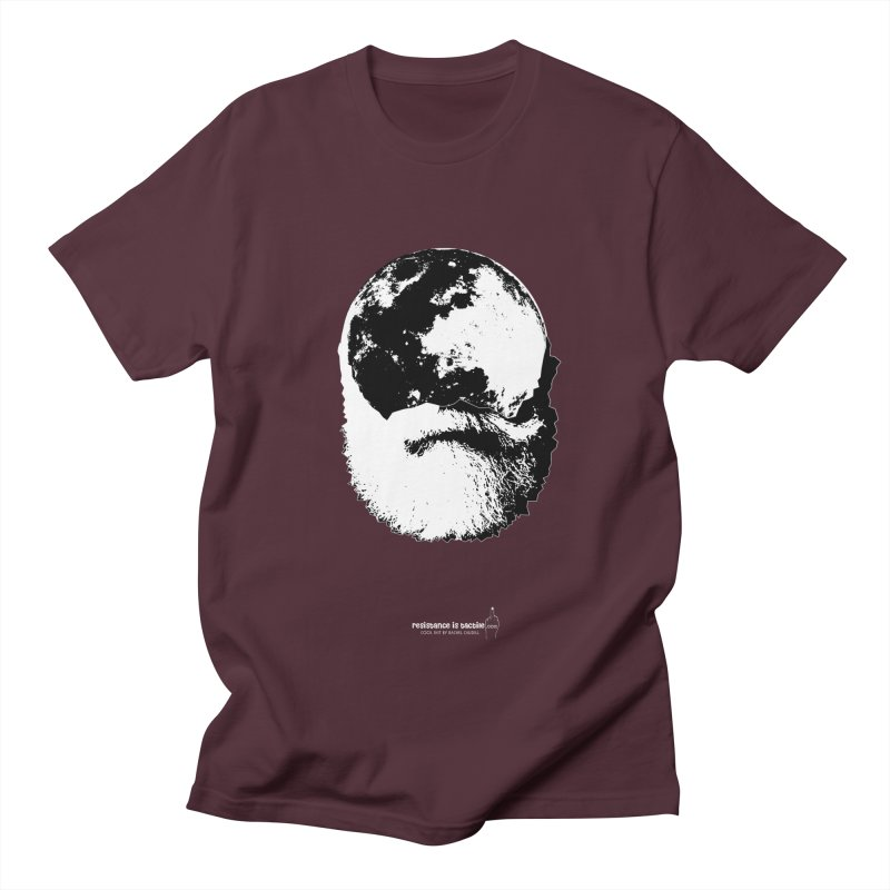 Moon Daddy Men's Regular T-Shirt by Resistance is Tactile