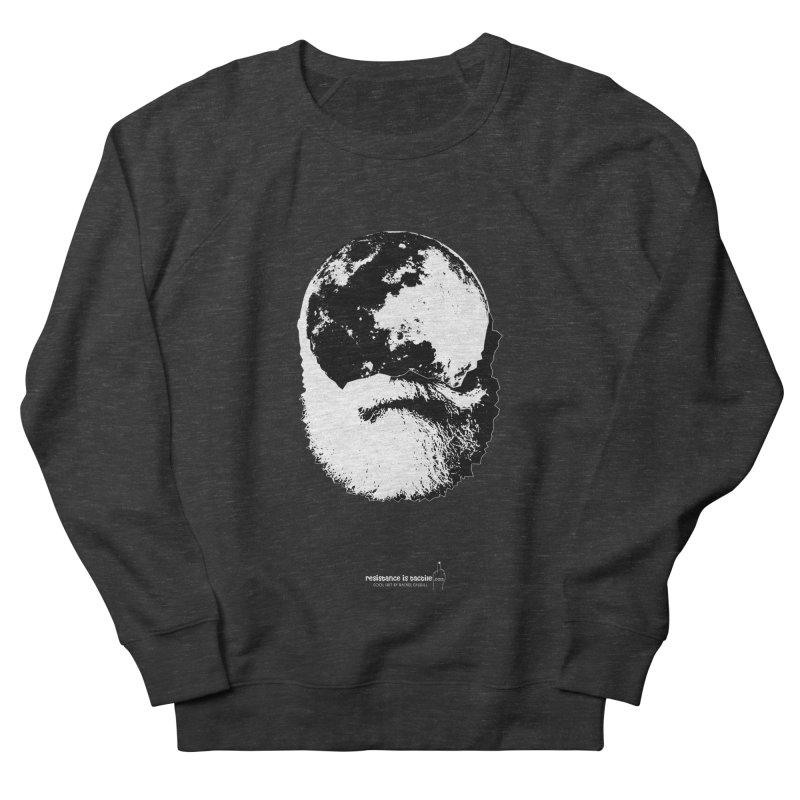 Moon Daddy Women's French Terry Sweatshirt by Resistance is Tactile