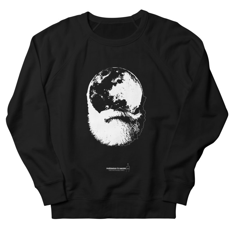 Moon Daddy Men's French Terry Sweatshirt by Resistance is Tactile