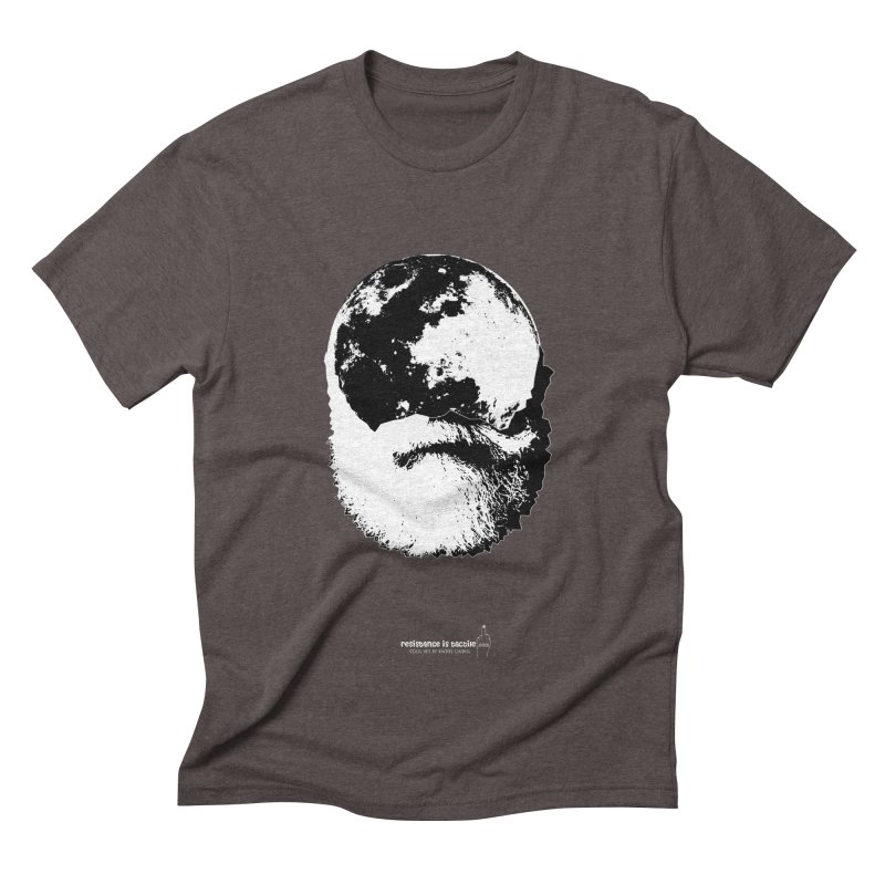 Moon Daddy Men's Triblend T-Shirt by Resistance is Tactile