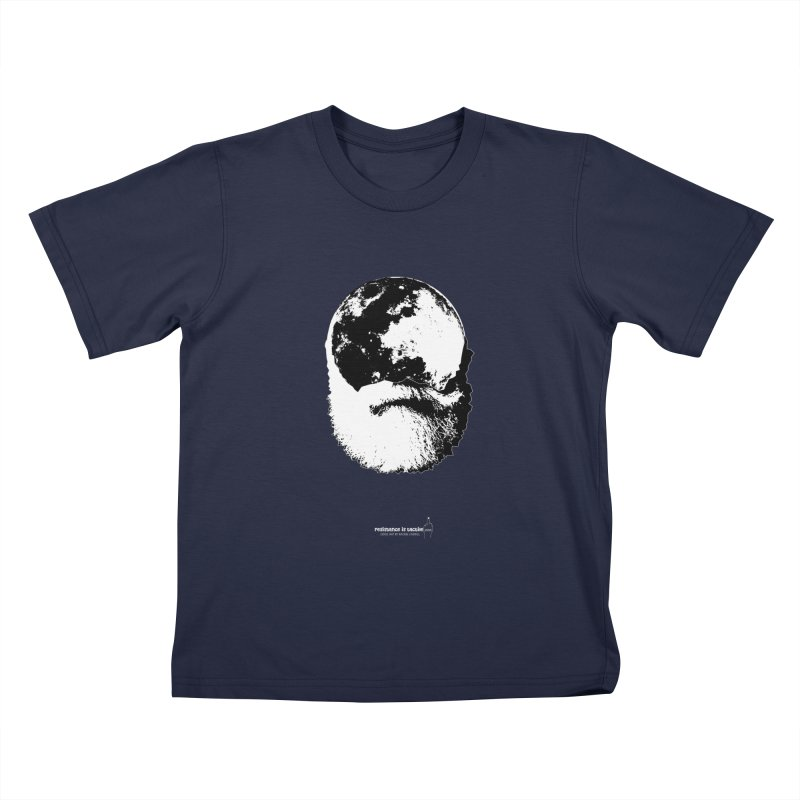 Moon Daddy Kids T-Shirt by Resistance is Tactile