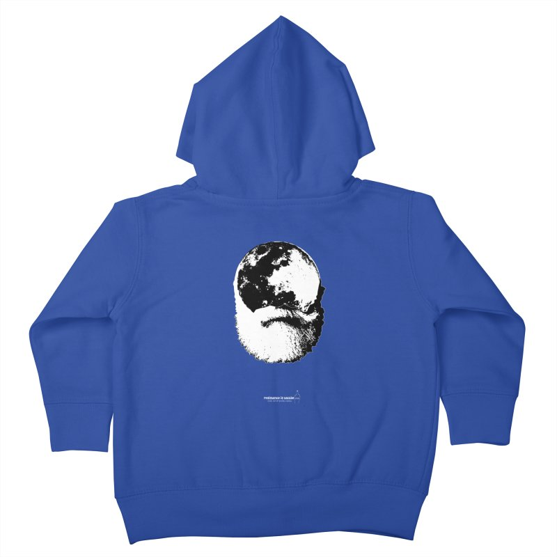 Moon Daddy Kids Toddler Zip-Up Hoody by Resistance is Tactile