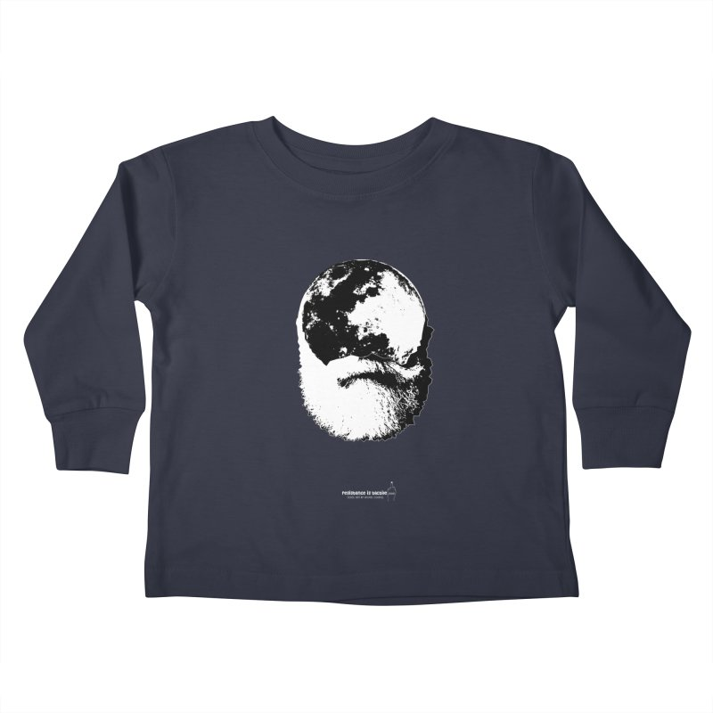 Moon Daddy Kids Toddler Longsleeve T-Shirt by Resistance is Tactile