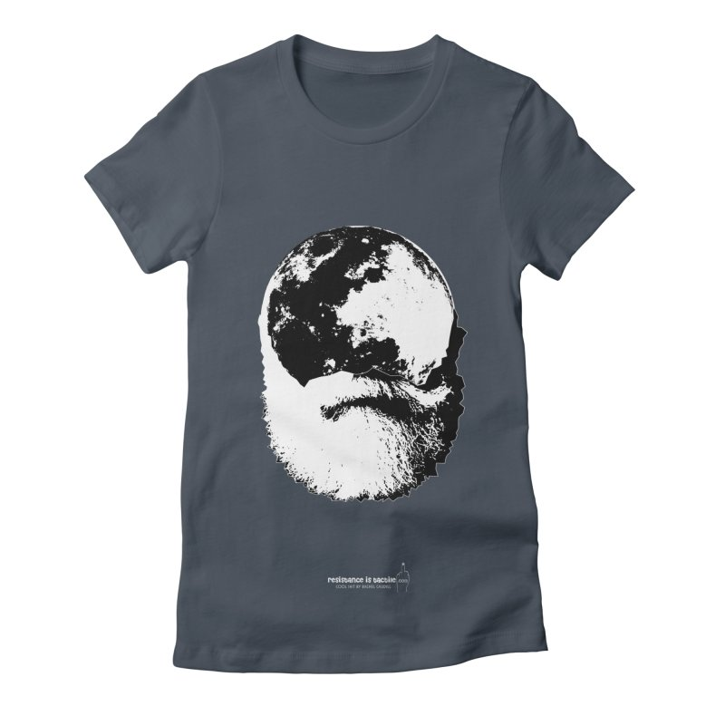 Moon Daddy Women's T-Shirt by Resistance is Tactile