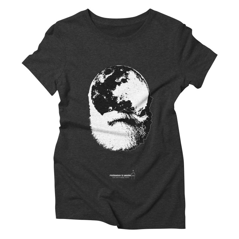 Moon Daddy Women's Triblend T-Shirt by Resistance is Tactile