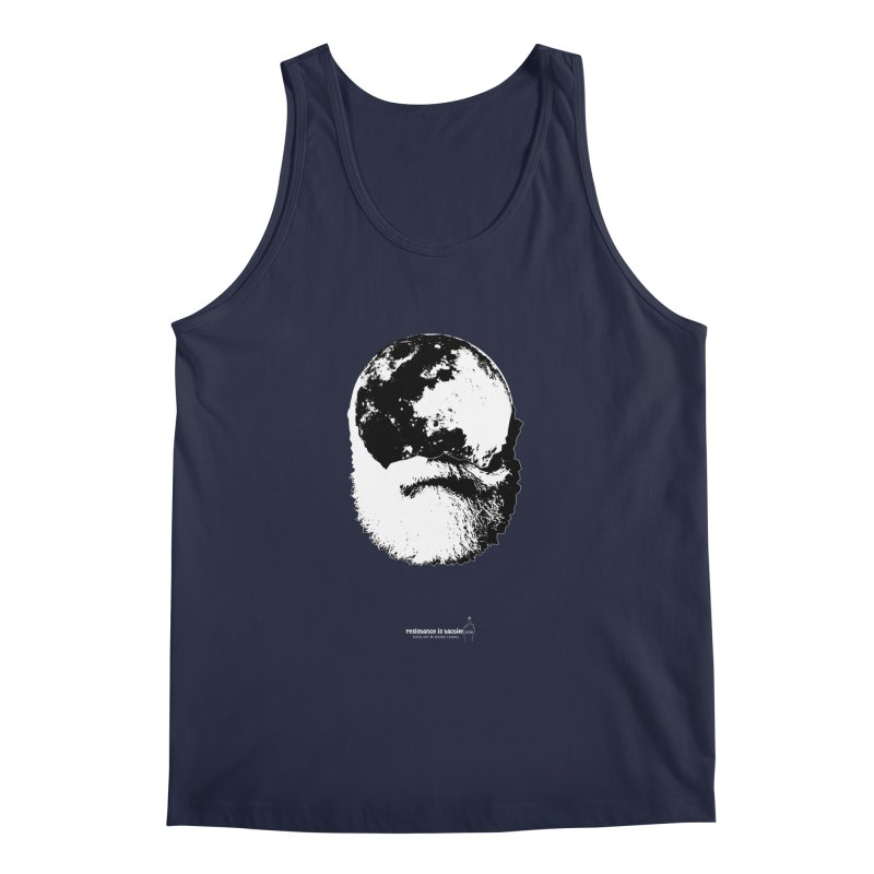 Moon Daddy Men's Regular Tank by Resistance is Tactile