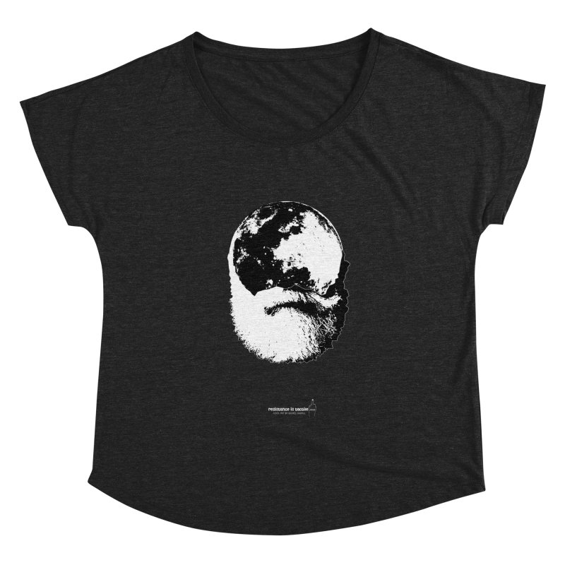 Moon Daddy Women's Scoop Neck by Resistance is Tactile