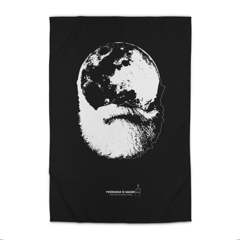 Moon Daddy Home Rug by Resistance is Tactile