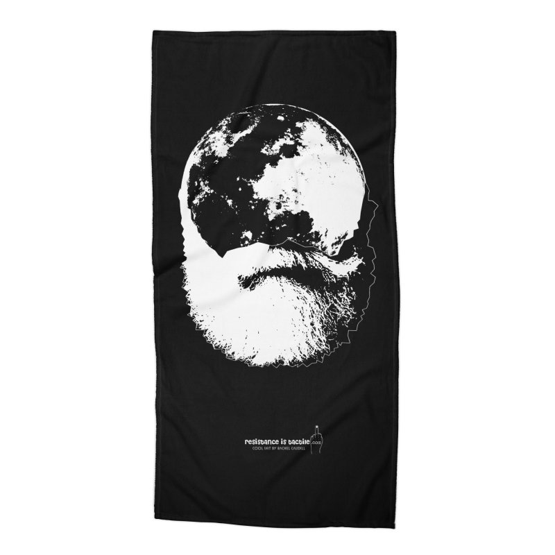 Moon Daddy Accessories Beach Towel by Resistance is Tactile