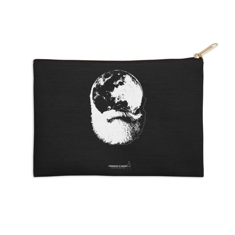 Moon Daddy Accessories Zip Pouch by Resistance is Tactile
