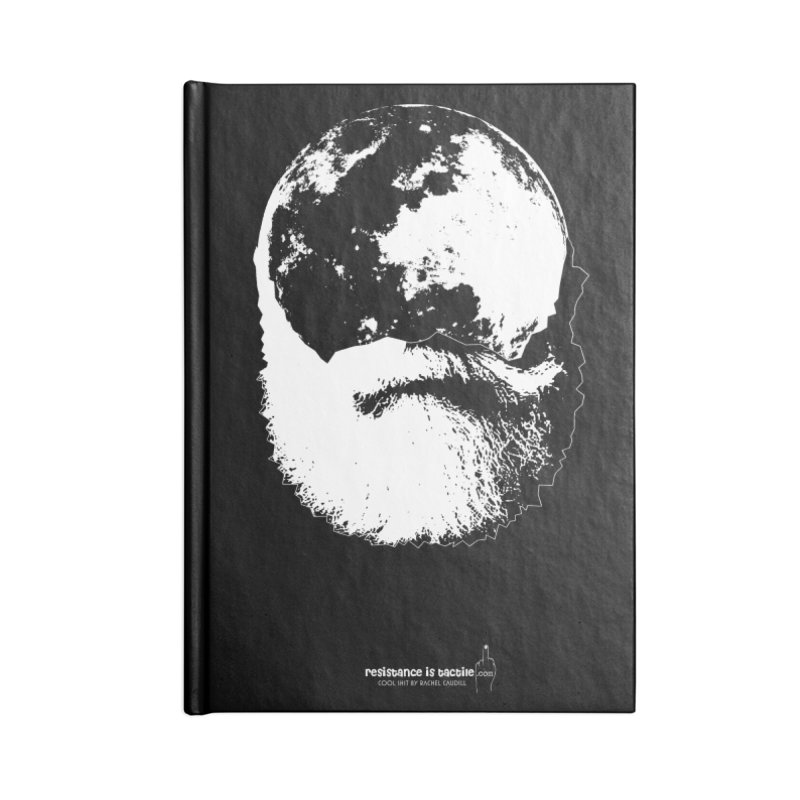 Moon Daddy Accessories Blank Journal Notebook by Resistance is Tactile