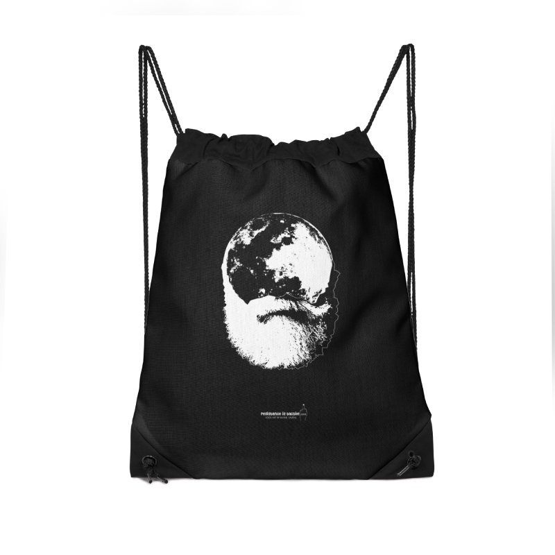 Moon Daddy Accessories Drawstring Bag Bag by Resistance is Tactile