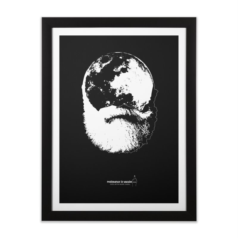 Moon Daddy Home Framed Fine Art Print by Resistance is Tactile