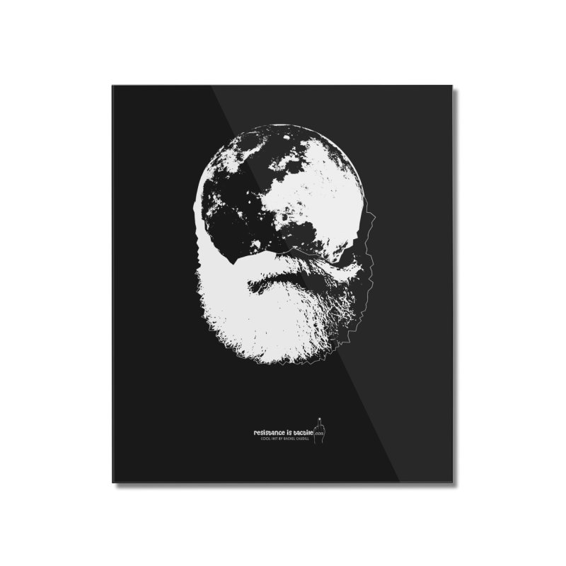 Moon Daddy Home Mounted Acrylic Print by Resistance is Tactile