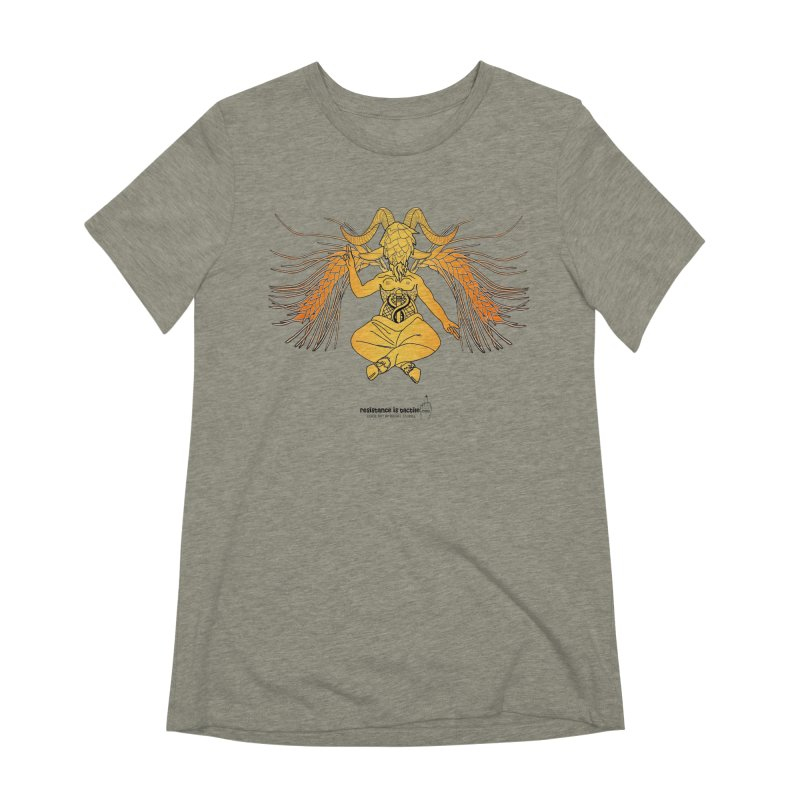 Beerphomet Women's Extra Soft T-Shirt by Resistance is Tactile