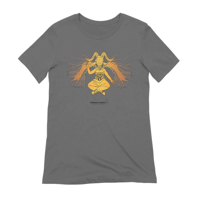 Beerphomet Women's T-Shirt by Resistance is Tactile