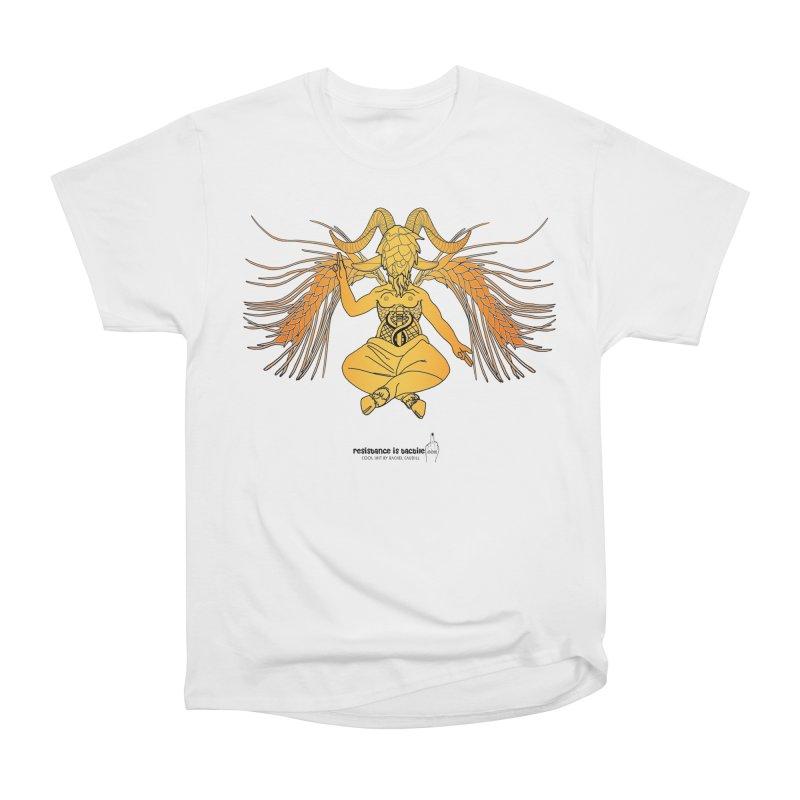 Beerphomet Men's T-Shirt by Resistance is Tactile