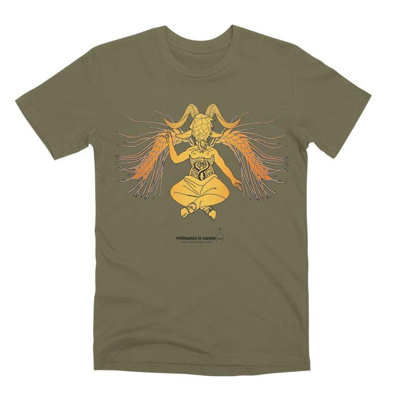 Beerphomet Men's Premium T-Shirt by Resistance is Tactile