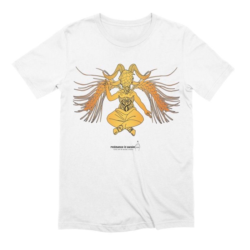 Beerphomet Men's Extra Soft T-Shirt by Resistance is Tactile