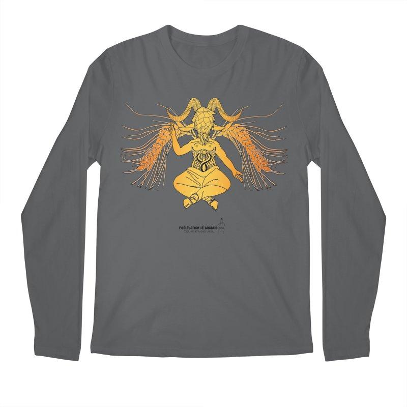Beerphomet Men's Longsleeve T-Shirt by Resistance is Tactile