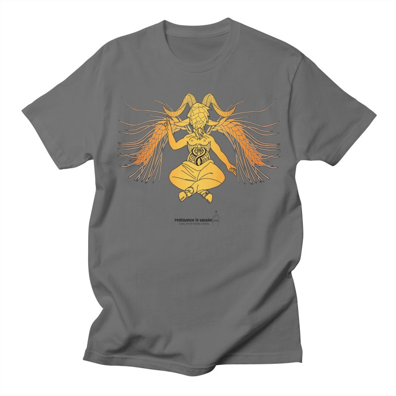 Beerphomet Men's T-Shirt by Resistance is Tactile