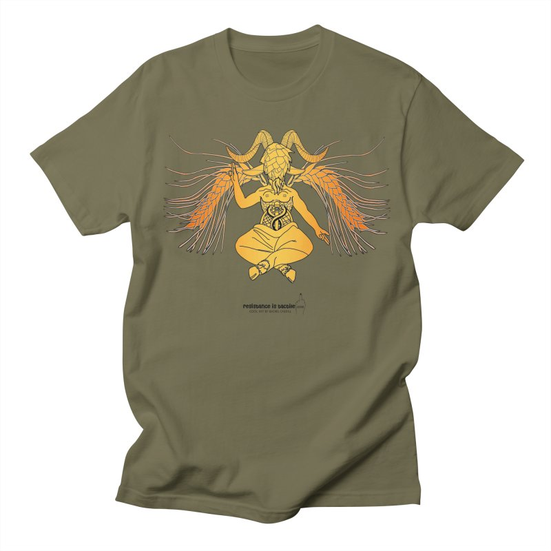 Beerphomet Men's Regular T-Shirt by Resistance is Tactile