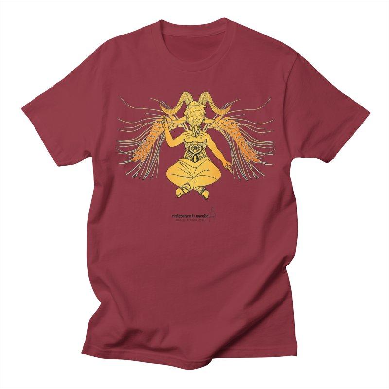 Beerphomet Women's Regular Unisex T-Shirt by Resistance is Tactile