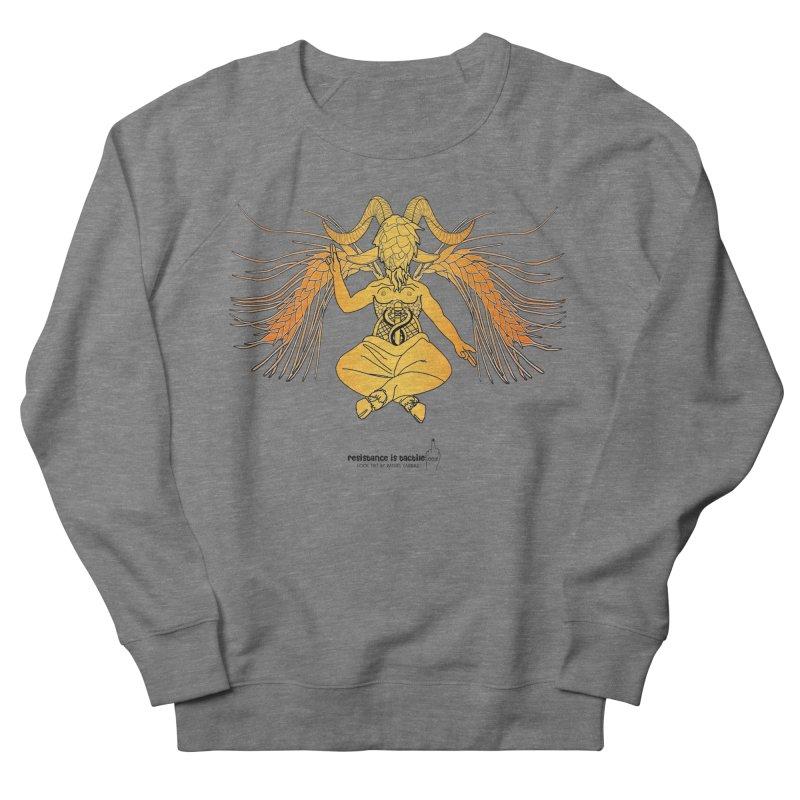 Beerphomet Women's French Terry Sweatshirt by Resistance is Tactile