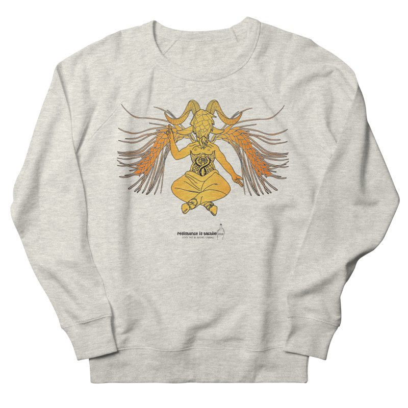 Beerphomet Men's Sweatshirt by Resistance is Tactile