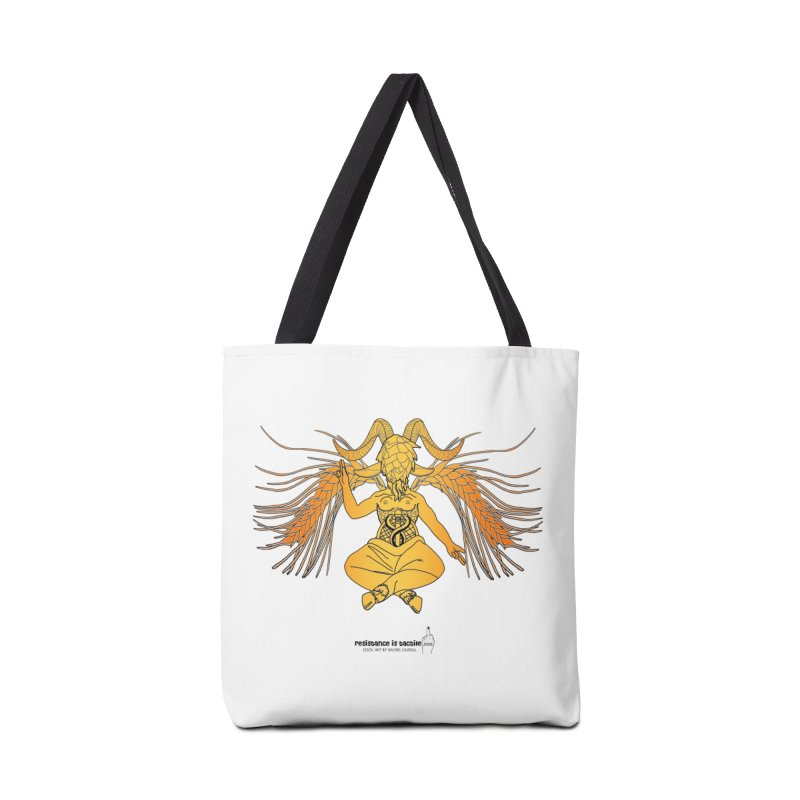 Beerphomet Accessories Tote Bag Bag by Resistance is Tactile
