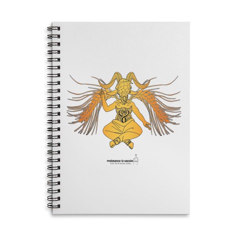 Beerphomet Accessories Notebook by Resistance is Tactile