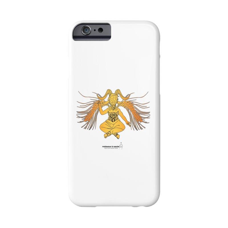 Beerphomet Accessories Phone Case by Resistance is Tactile