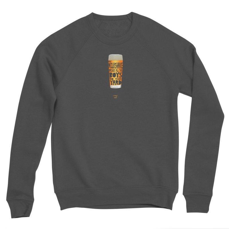 my NEIPA brings all the boys to the yard, sigh Men's Sponge Fleece Sweatshirt by Resistance is Tactile