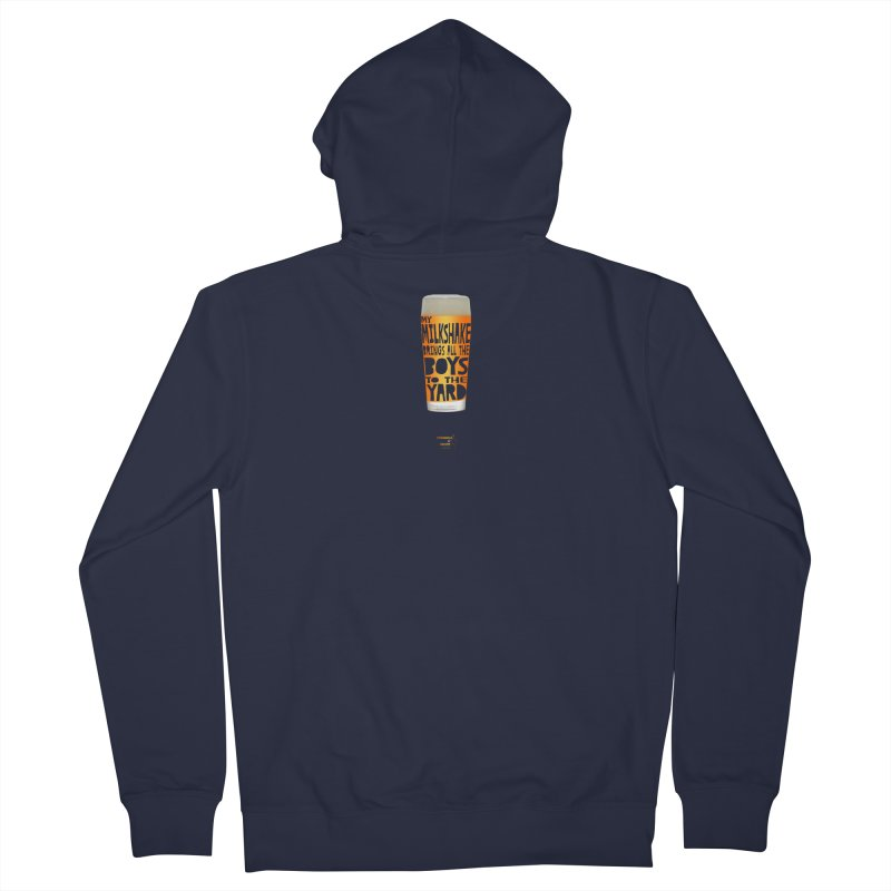 my NEIPA brings all the boys to the yard, sigh Women's French Terry Zip-Up Hoody by Resistance is Tactile
