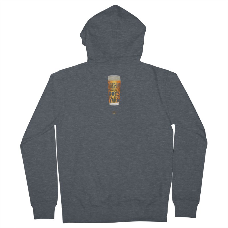 my NEIPA brings all the boys to the yard, sigh Men's French Terry Zip-Up Hoody by Resistance is Tactile