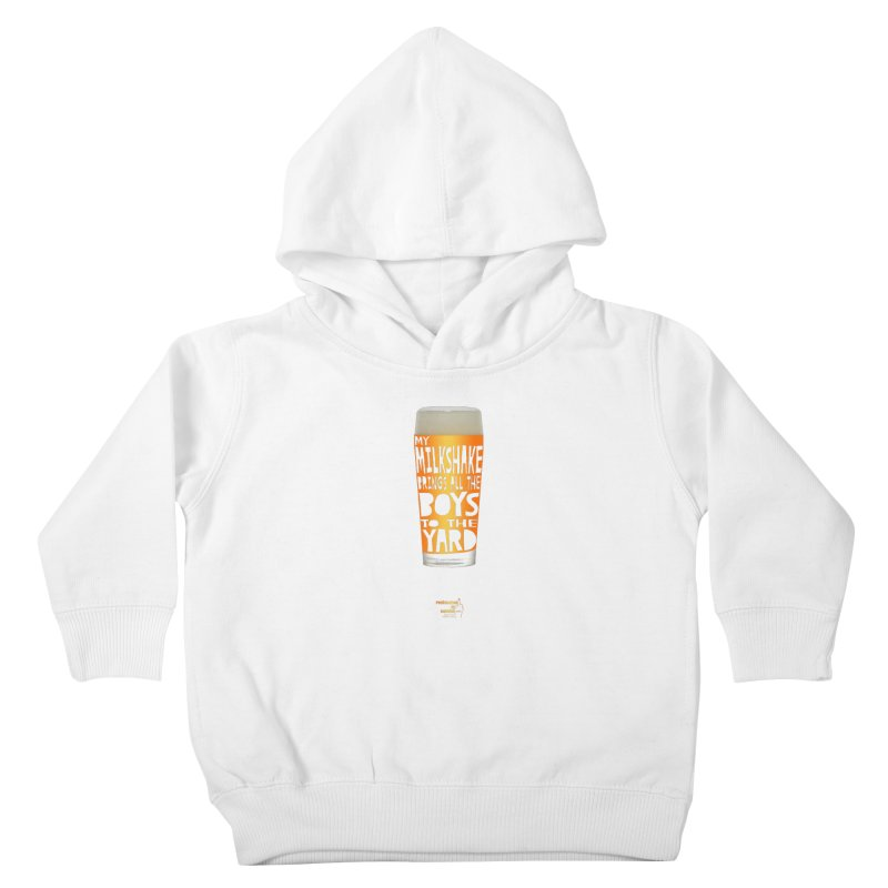 my NEIPA brings all the boys to the yard, sigh Kids Toddler Pullover Hoody by Resistance is Tactile