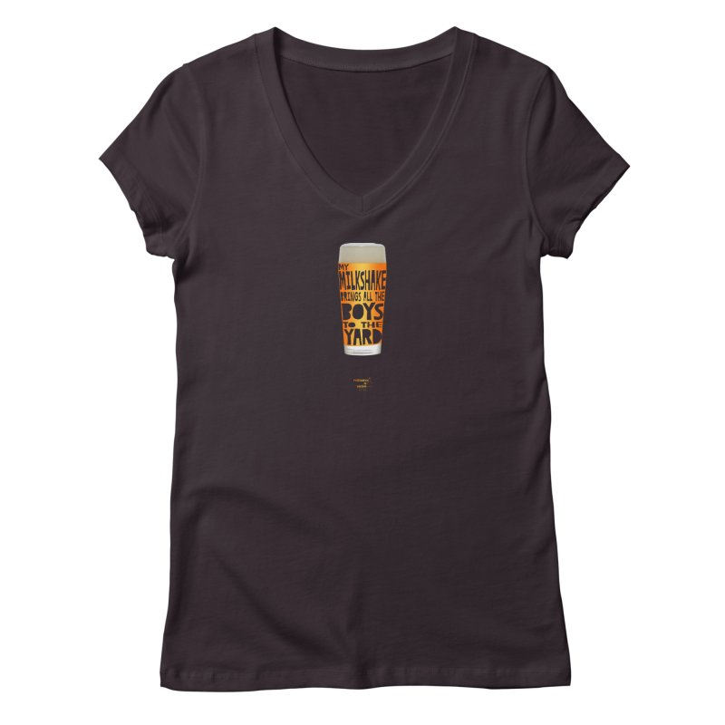 my NEIPA brings all the boys to the yard, sigh Women's Regular V-Neck by Resistance is Tactile