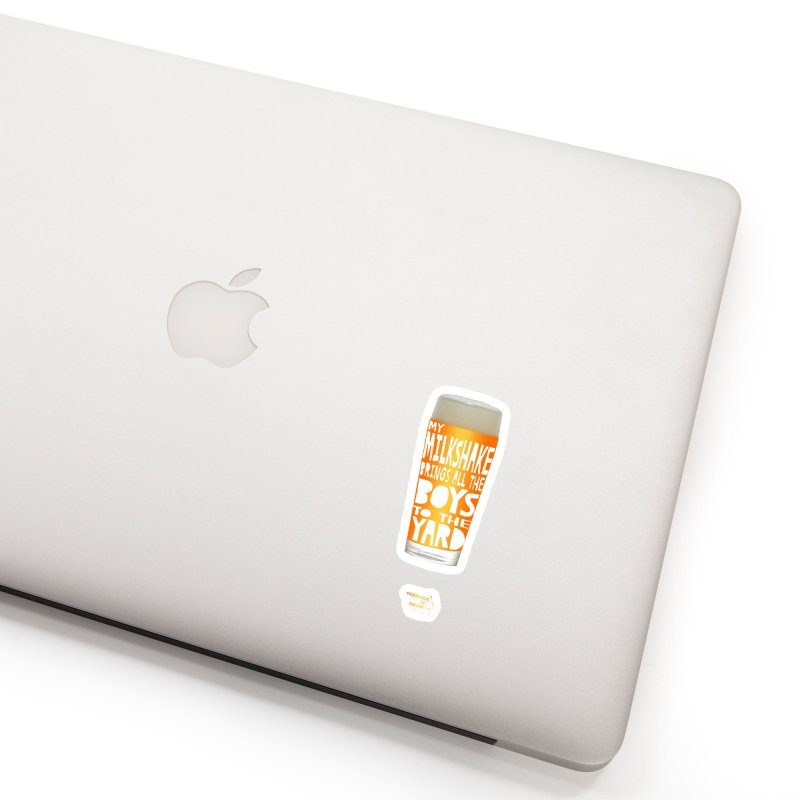 my NEIPA brings all the boys to the yard, sigh Accessories Sticker by Resistance is Tactile