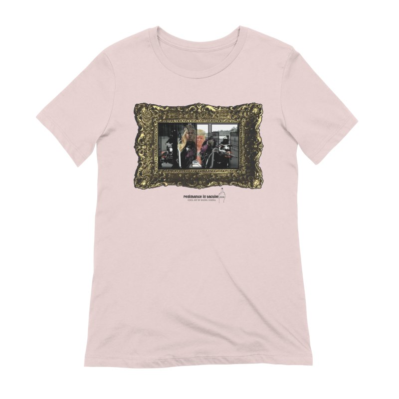 DJT on TWD on INRI Women's Extra Soft T-Shirt by Resistance is Tactile