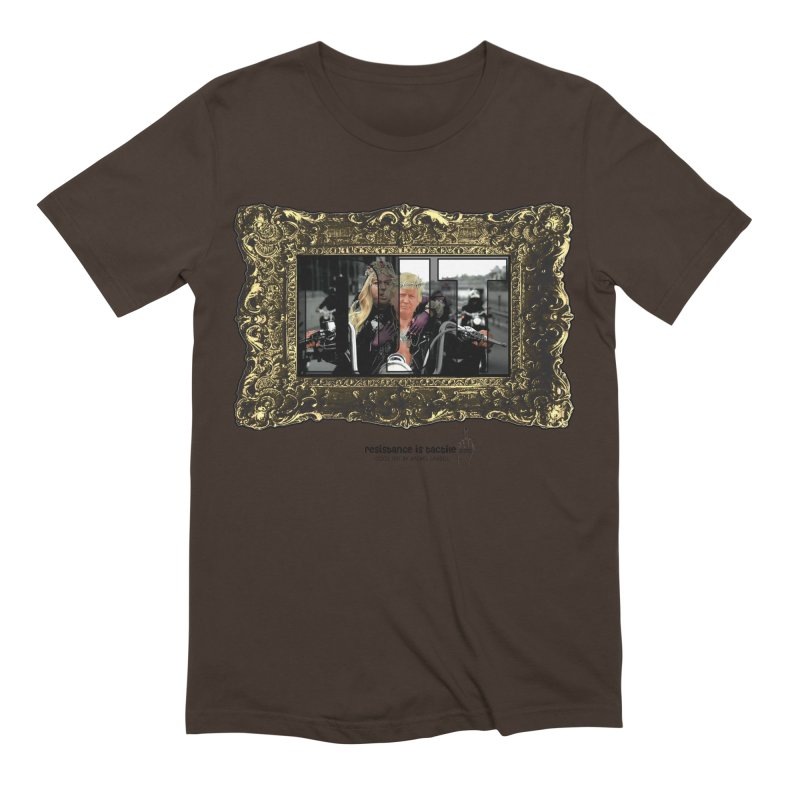 DJT on TWD on INRI Men's Extra Soft T-Shirt by Resistance is Tactile