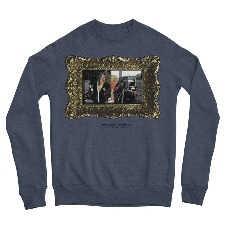 DJT on TWD on INRI Men's Sponge Fleece Sweatshirt by Resistance is Tactile