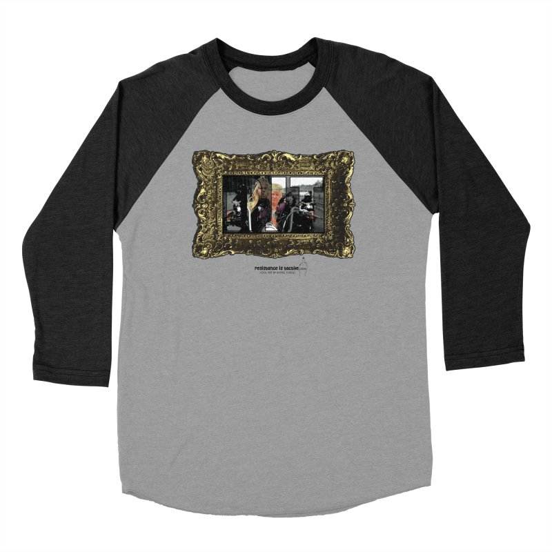 DJT on TWD on INRI Men's Longsleeve T-Shirt by Resistance is Tactile