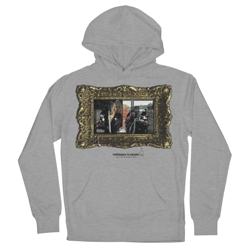 DJT on TWD on INRI Women's French Terry Pullover Hoody by Resistance is Tactile