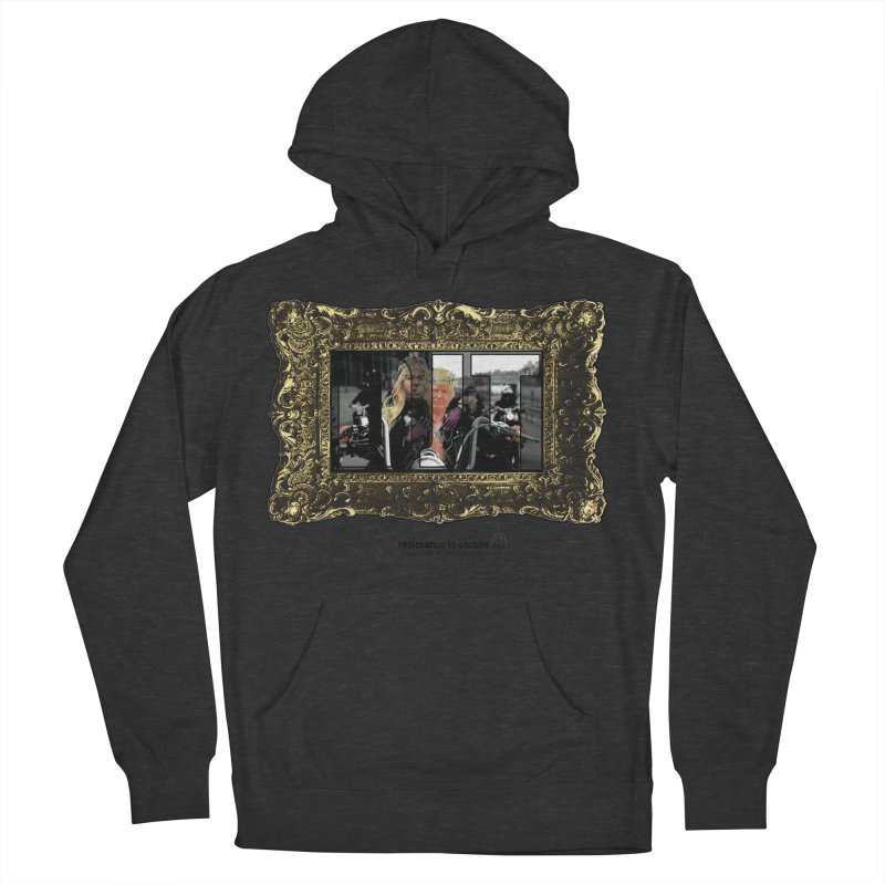DJT on TWD on INRI Men's French Terry Pullover Hoody by Resistance is Tactile