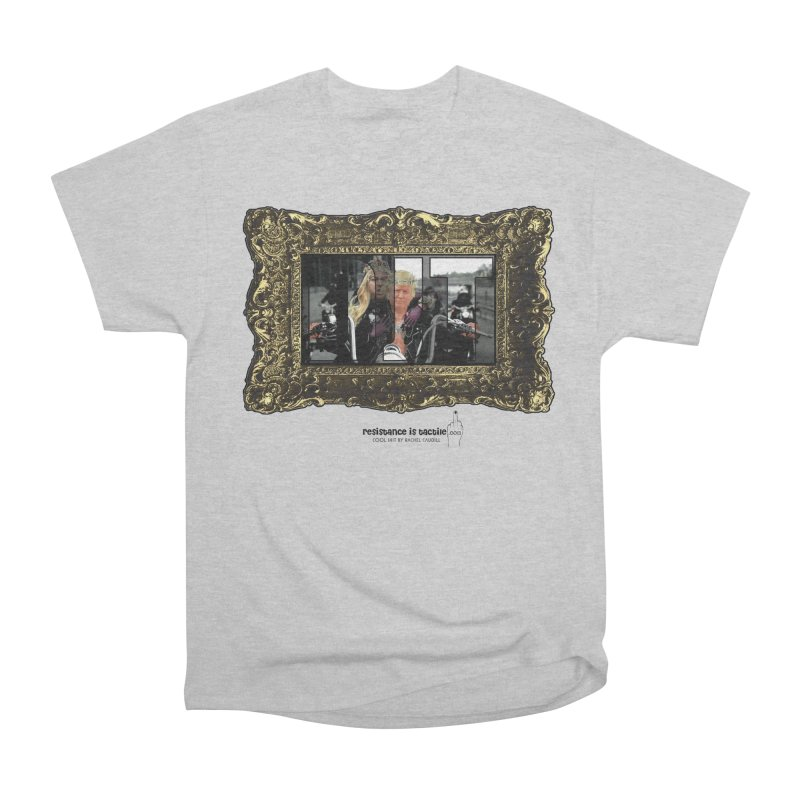 DJT on TWD on INRI Women's Heavyweight Unisex T-Shirt by Resistance is Tactile