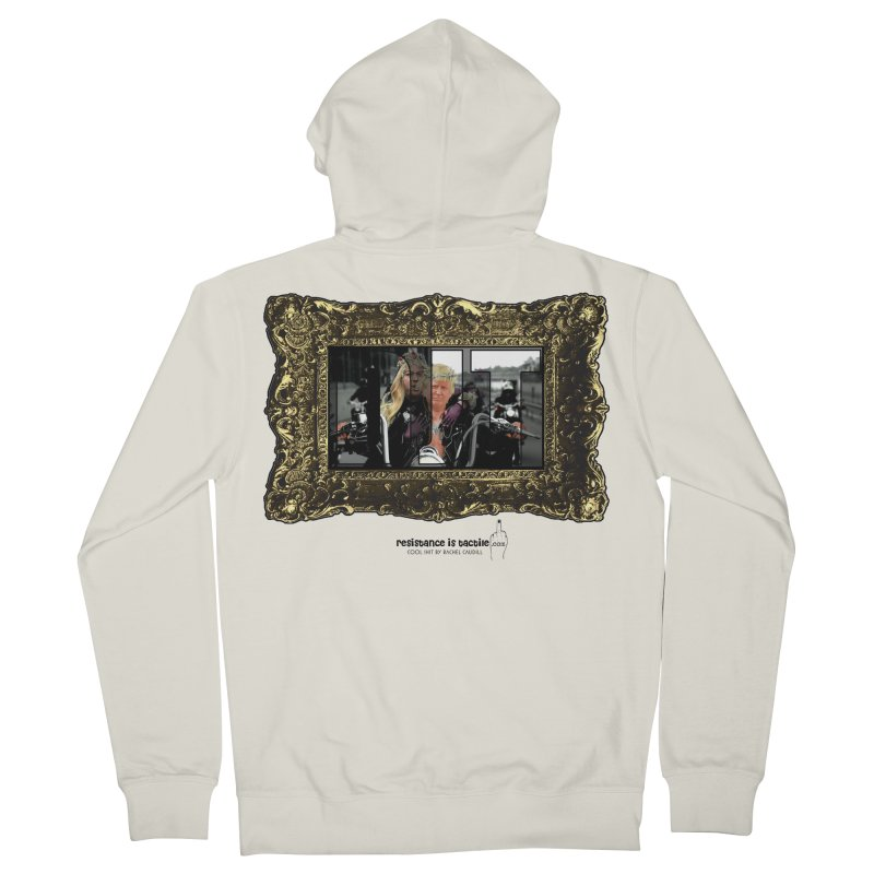 DJT on TWD on INRI Women's French Terry Zip-Up Hoody by Resistance is Tactile