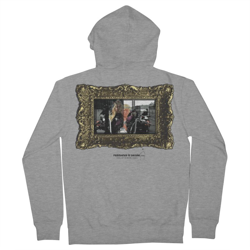 DJT on TWD on INRI Men's French Terry Zip-Up Hoody by Resistance is Tactile