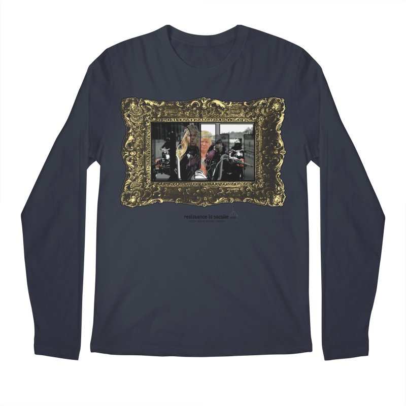 DJT on TWD on INRI Men's Regular Longsleeve T-Shirt by Resistance is Tactile